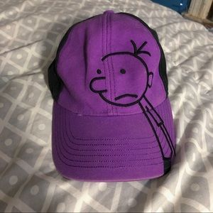 diary of a wimpy kid baseball hat